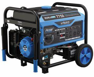 Pulsar PG7750B dual fuel portable generator