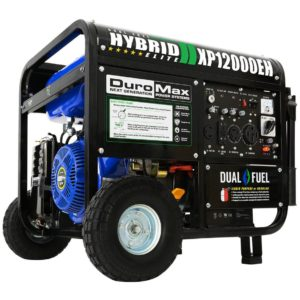 DuroMax XP12000 eh dual fuel portable generator