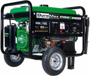Duromax XP4850EH dual fuel 4850 watt electric start portable generator