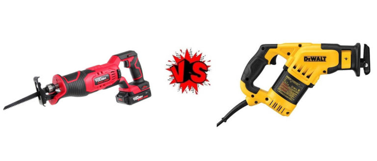Corded Vs. Cordless Reciprocating Saw
